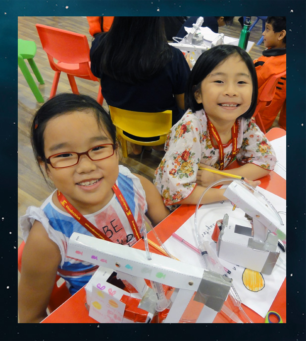 Space Invention Camp Lego Robotics School Holiday Classes Program December 2016